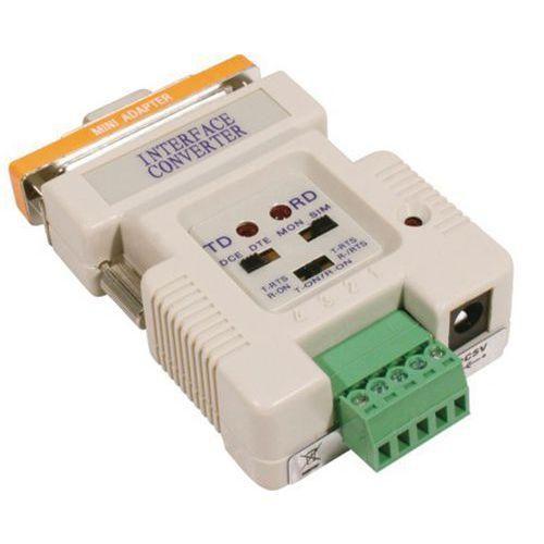 CONVERTISSEUR RS232 VERS RS422/485 AVEC ALIMENTATION USB