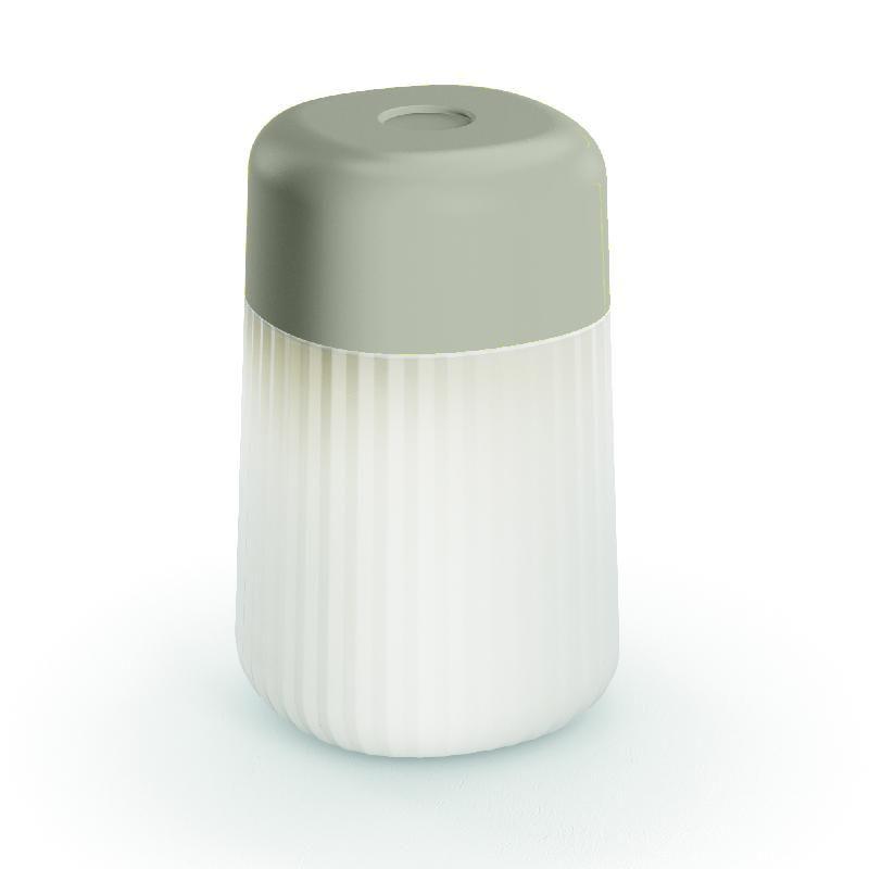 KOHO-LAMPE BALADEUSE LED RECHARGEABLE D'EXTÉRIEUR H28CM GRIS FONTANA ARTE - DESIGNÉ PAR GAMFRATESI