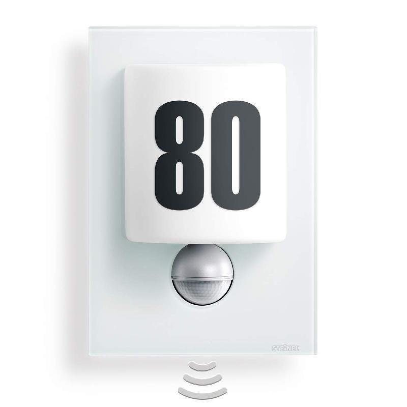 APPLIQUE D'EXTÉRIEUR LED L680 VERRE BLANC