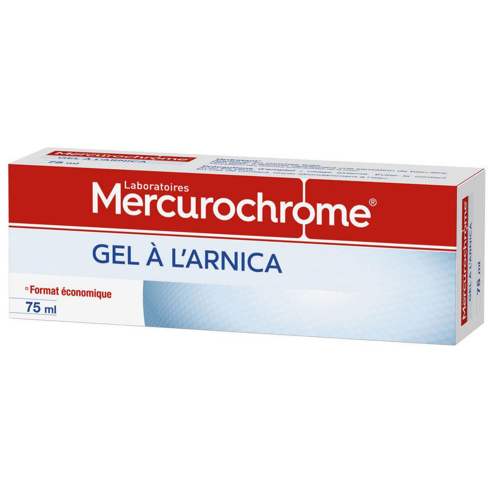 TUBE À L'ARNICA MERCUROCHROME - 75ML