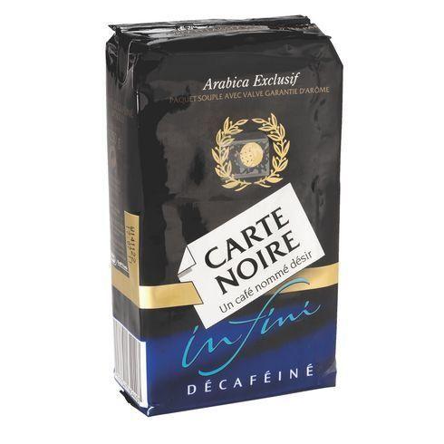 CAFÉ CARTE NOIRE DÉCAFEINÉ MOULU - PAQUET DE 250 G - CARTE NOIRE