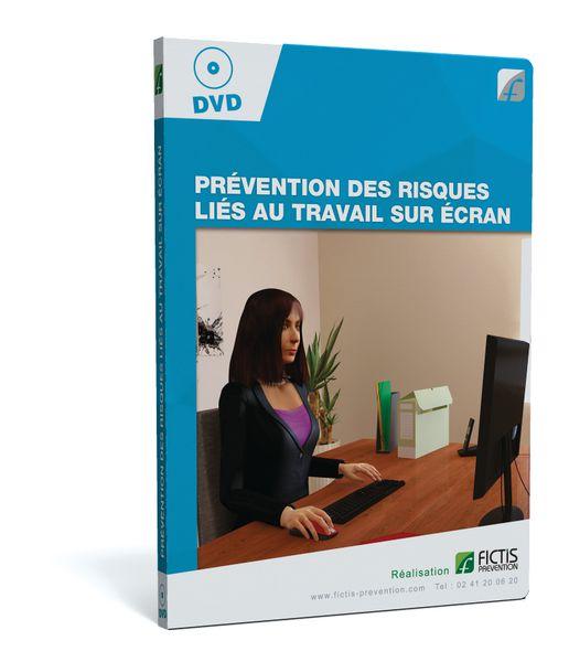 DVD - PRÉVENTION DES RISQUES LIÉS AU TRAVAIL SUR ÉCRAN