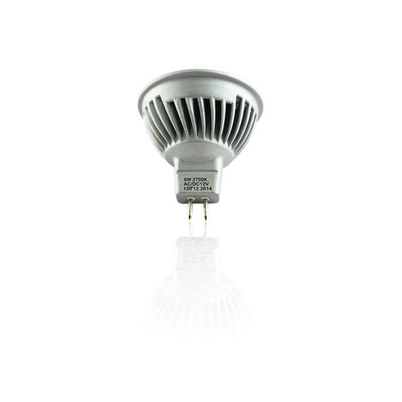 Ampoule Mr16 Led Éclairage Chaud2700kSuperled 50wBlanc 6w WHIE9D2
