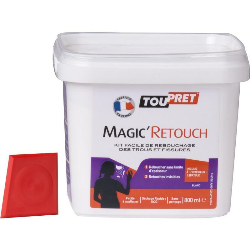 ENDUIT DE REBOUCHAGE TOUPRET MAGIC'RETOUCH 800ML