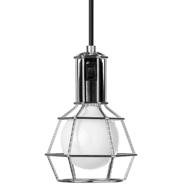 WORK LAMP-LAMPE BALADEUSE H21CM CHROME DESIGN STOCKHOLM HOUSE - DESIGNÉ PAR FORM US WITH LOVE