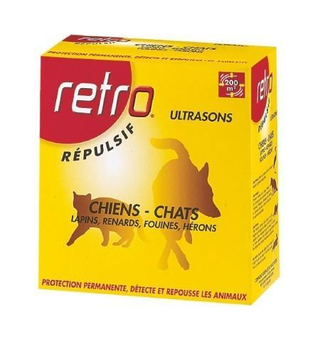 APPAREIL UTRASONS CHIEN ET CHAT RETRO - A PILES