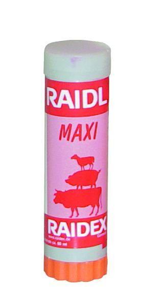 CRAYONS.RAIDEX A VIS ROUGE (BOX DE 3)