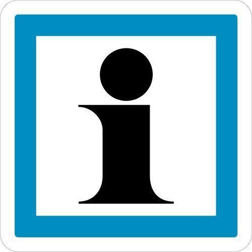 PANNEAU DE SIGNALISATION D'INDICATION - CE3A - INFORMATION