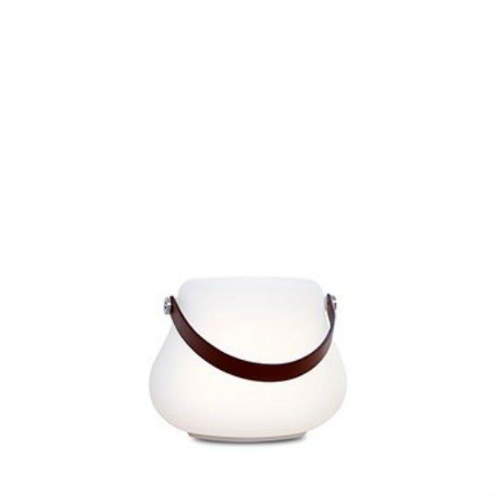 FLOWERPOT-POT LUMINEUX D'EXTÉRIEUR LED RGB AVEC ENCEINTE BLUETOOTH H16CM BLANC NORDIC DLUXX - DESIGNÉ PAR 365 NORTH
