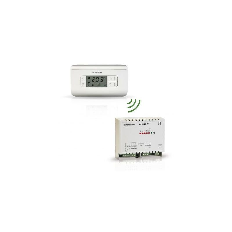 THERMOSTAT D'AMBIANCE VENTILO CH130RFR (RADIOFRÉQUENCE) - FANTINI