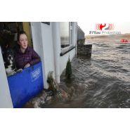 Panneau anti-inondation