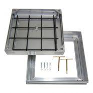 Plaque de regard en aluminium