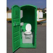 Cabine de toilettes seches