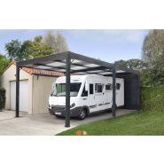 Abri camping-car en aluminium