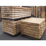 Traverse bois pour escalier exterieur