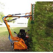 Taille-haie pour micro-tracteur