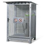 Armoires et cages pour bouteilles de gaz
