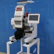 Machine à coudre industrielle plate