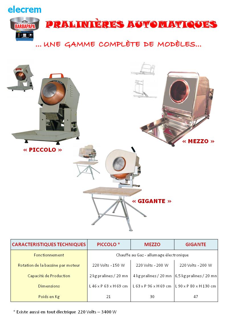 Modele piccolo gaz ou electrique 2kg 20mn for Cuisine gaz ou electrique