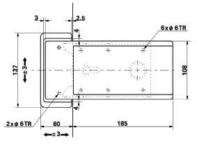 Poignee chambre froide avec serrure fermeture porte isotherme 921 for Construction chambre froide pdf