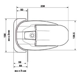 Poignee en composite pour fermeture de porte isotherme de chambre froide n 521 for Construction chambre froide pdf