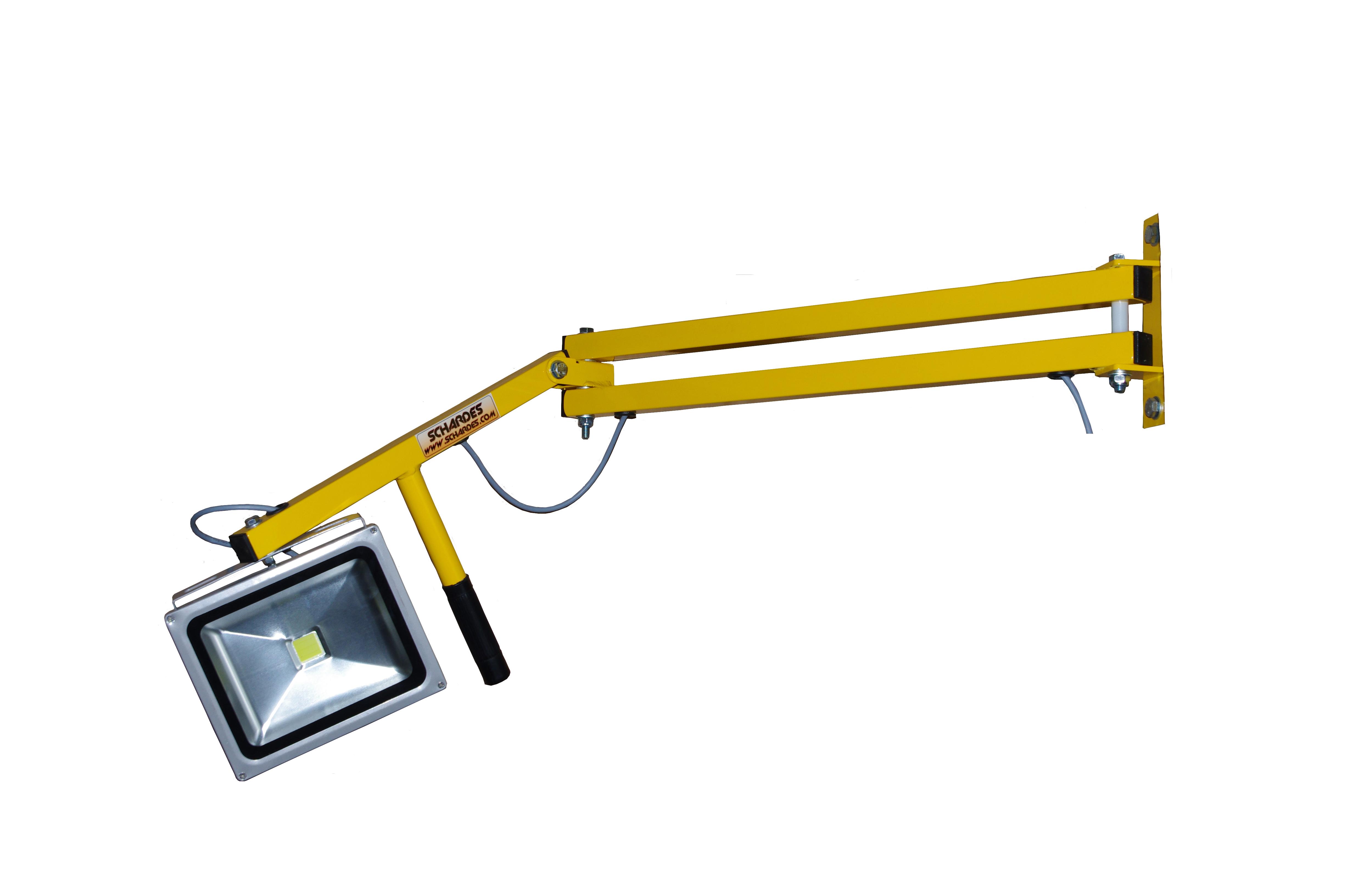 Projecteur de quai led de chargement interieur for Projecteur interieur