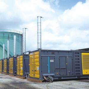Groupe Électrogène Conteneur Réseau Silo