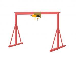 Le système de suspension d'un palan