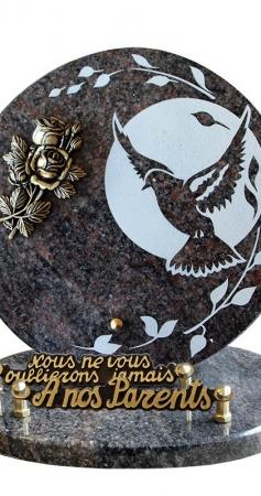 Quel est le prix d'une plaque funéraire ?