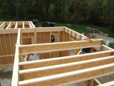Maison ossature bois préfabriquée