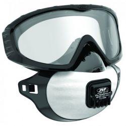 Lunettes-masque anti-amiante