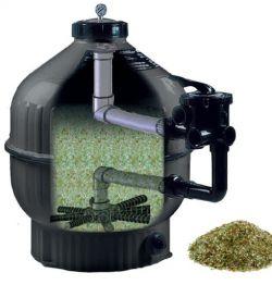 Filtre à verre recyclé