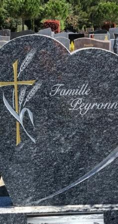 Quel est le prix d'une stèle funeraire ?