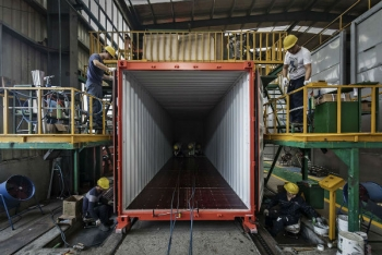 fabrication container maritime