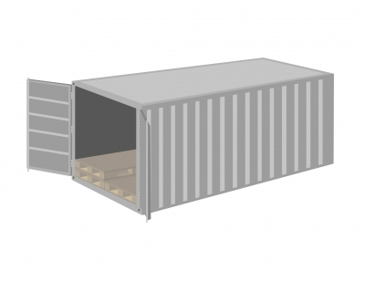 Container Pallet Wide