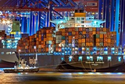 Container maritime Port Porte-Conteneur