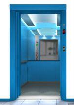 Ascenseur Bleue Cabine 8