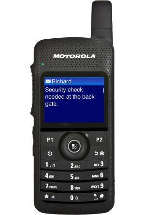 Talkie walkie numérique