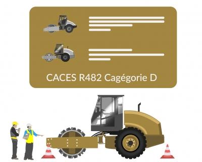 Formation CACES rouleau compresseur