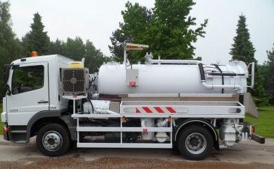 Camion hydrocureur 12 tonnes