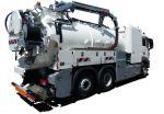 Camion hydrocureur Rivard