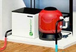 Pompe à chaleur géothermique de piscine