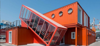 Bureau container architecture moderne