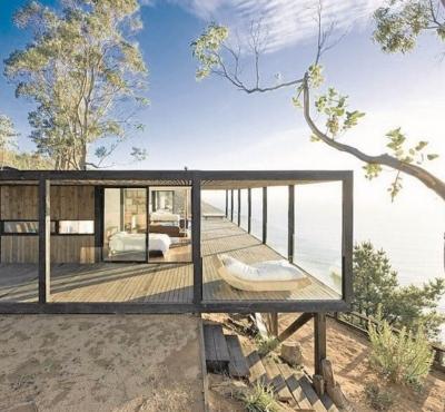 Maison container habitation étages design