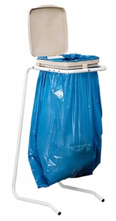 Quel est le prix d'un support pour sacs-poubelle ?