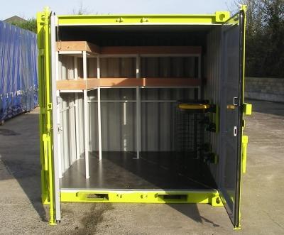 Container de stockage archivage