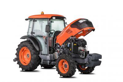Motorisation d'un tracteur agricole