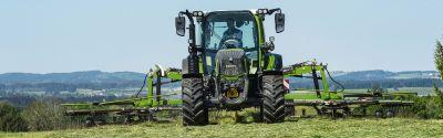 Utilisation d'un tracteur agricole