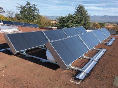 panneau solaire thermique air