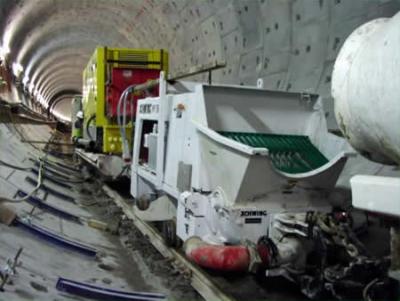 Pompes à Béton Stationnaires sur Rail